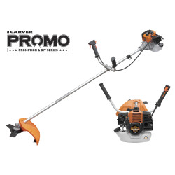 Коса бензиновая Carver PROMO PBC-33 (Easy-start; руль; ремень; нож 3-лоп.; леска 2,4) / 01.001.00026